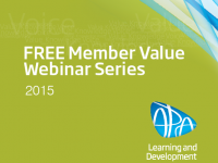 Member Value Webinar #3 - Lifting performance of your staff from mediocre to marvelous