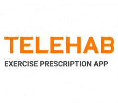 Exercise prescription and adherence with the TeleHab App